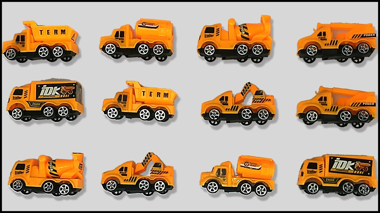 construction vehicles for children kids toddlers transport