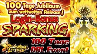 100 Tage DBL Event! Kostenlose Zeitkristalle! HYPE Summon? O.O | Dragon Ball Legends Deutsch