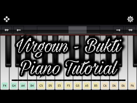 Virgoun - Bukti (Piano Tutorial) | Not Lagu