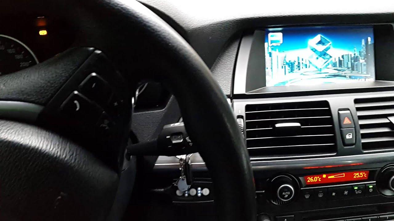 BMW X5 E70 Aftermarket navigation IGO