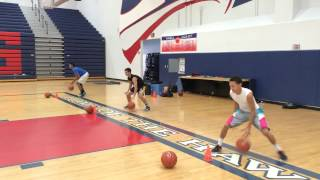"Pure Sweat Basketball ""Elite 24"" Southern California - Ball Handling Sample - Part 4"
