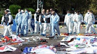 ستة وثمانون قتيلا على الأقل في انفجار مزدوج في العاصمة التركية أنقرة.