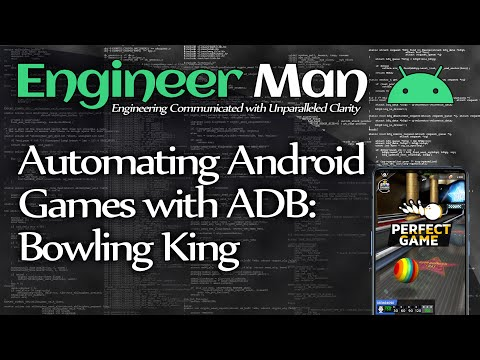 Automating Android Games With ADB: Bowling King (Perfect Games)