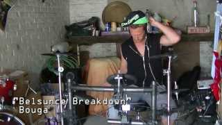 Belsunce breakdown  - Bouga - Drum cover