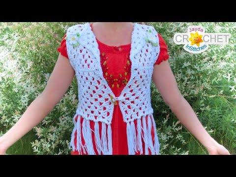 Classic Granny Square Vest - Crochet Pattern - DIY Festival Fashion
