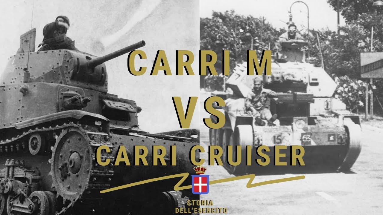 CONFRONTO : CARRI M CONTRO i CARRI CRUISER - Cruiser Mk. III & Mk. IV