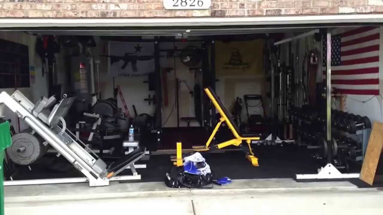 Garage gym youtube