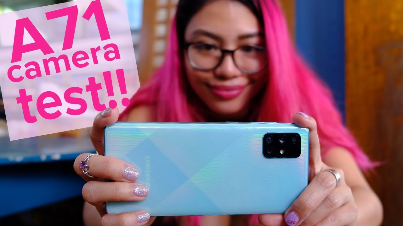 Samsung Galaxy A71 unboxing & camera review (+dogs)