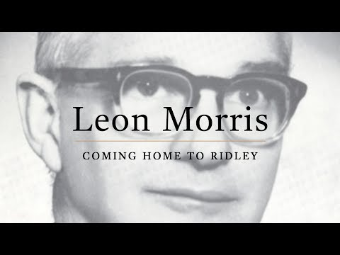 Leon Morris, coming home to Ridley