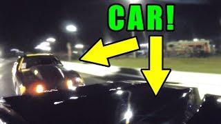 Firebird Wrecks Into Mustang - Crazy Gopro Angles!