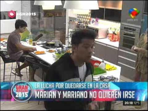 #GH2015: ¿Quién se tiene que ir de La Casa: Mery o Mariano?