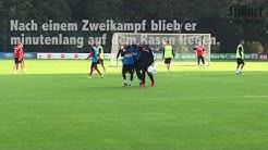 1. FC Köln: Anthony Modeste verletzt sich beim Training