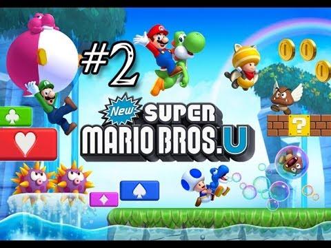 New Super Mario Bros U - #2 - CARTA CANTA!