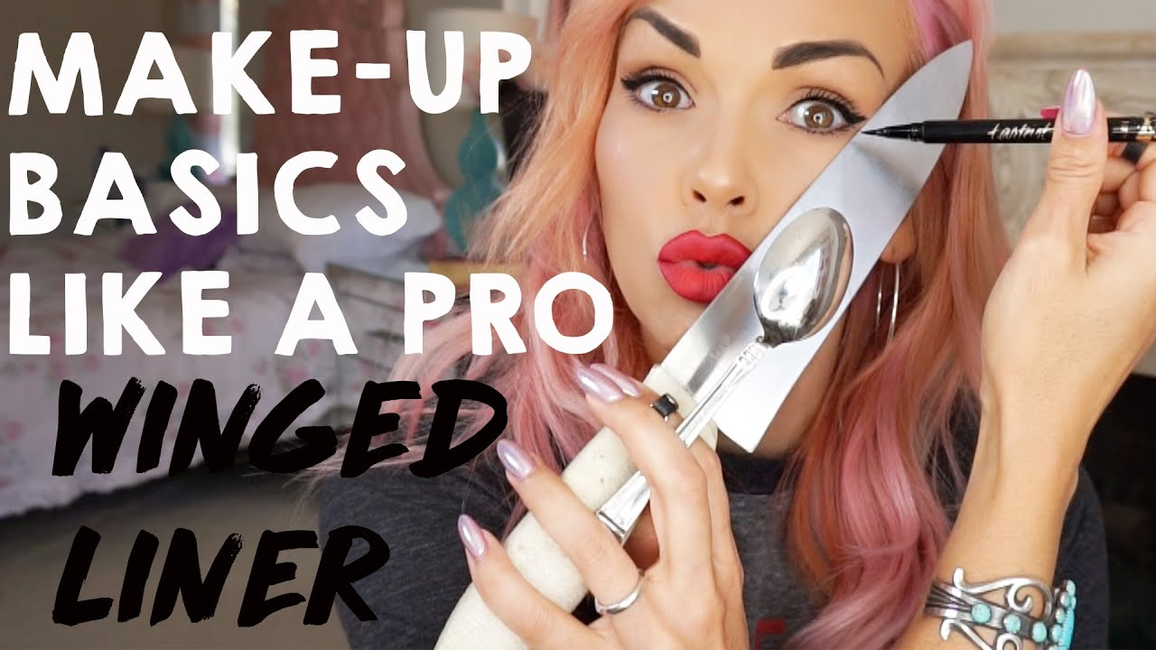 MAKEUP BASICS: HOW TO DO WING EYELINER LIKE A PRO