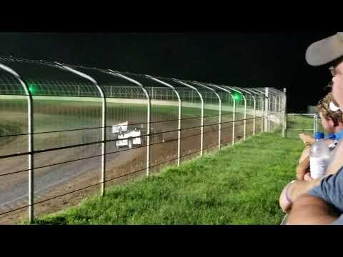7-7-18 Junction Motor Speedway Late Model Feature Winner Cory Dumpert Wi