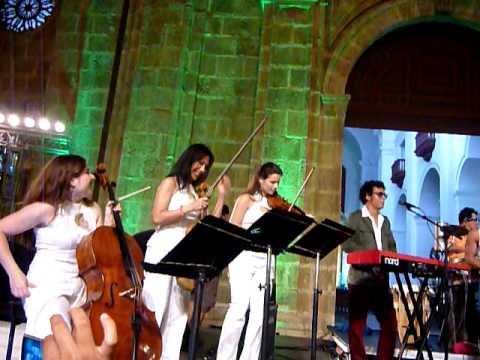 Puerto Candelaria, Cartagena music Festival 2010