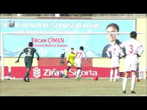 Gümüşhanespor 1-1 Atkiker Konyaspor...