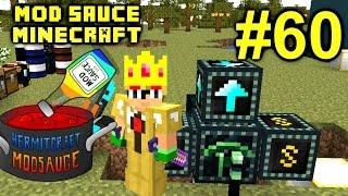 Minecraft Mod Sauce Ep. 60 - Max Upgraded Ender Quarry !!! ( HermitCraft Modded Minecraft )