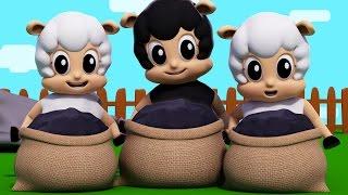 baa baa black sheep | nursery rhymes | kids songs | 3d rhymes | childrens songs by Farmees