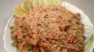 Fry rice recipe bangla