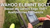Switching from Garmin Edge to Wahoo Elemnt BOLT (Initial