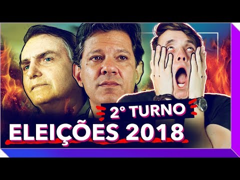 Eleições 2018 - 2º Turno: Designer reage a Haddad e Bolsonaro