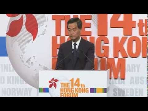 Keynote Luncheon - The Honourable C Y Leung