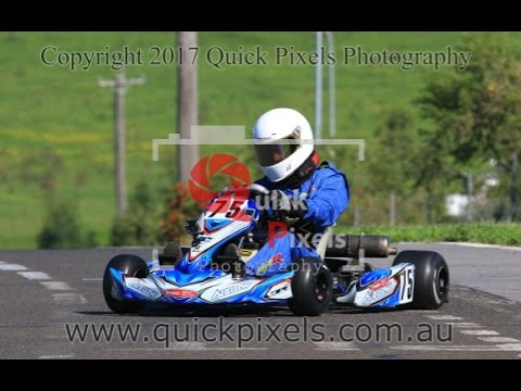 i came 3rd - 26 3 17 wkrc picton go karting