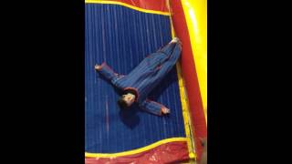 Ian on the Velcro Wall 7-14-15