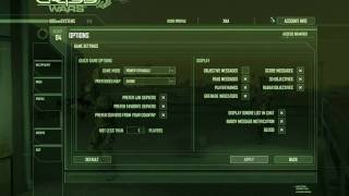 Crysis Wars Cool Menu Background