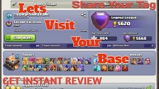 Lets Visit & Review Your Base (Live)