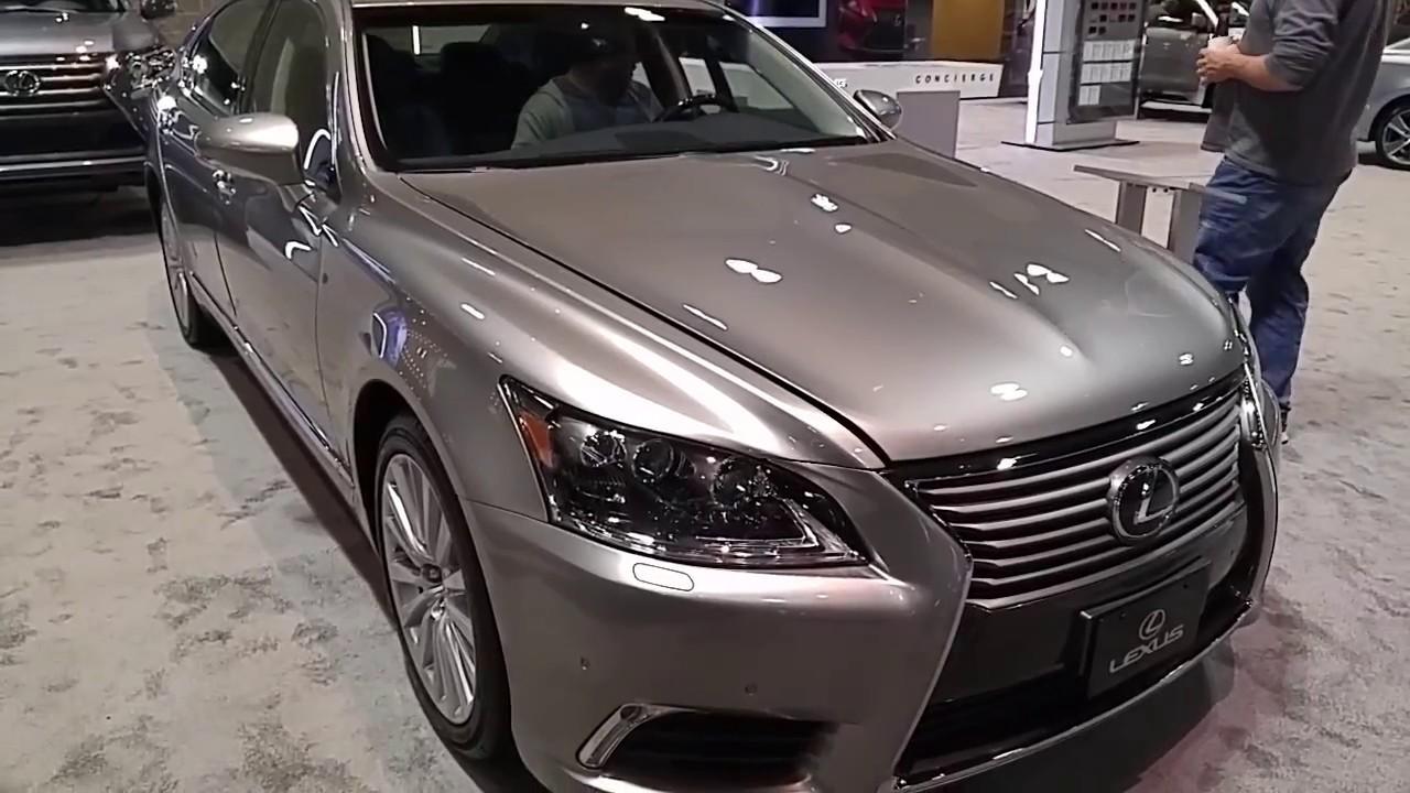 Elegant 2017 Lexus LS 460L