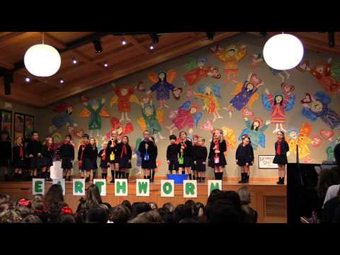 Kindergarten Earthworm Assembly at Santa Catalina School