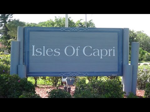Tour of the Isles of Capri, a Florida Paradise