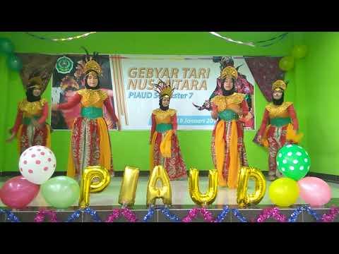 Tarian Tokecang Mahasiswa Jurusan PIAUD FITK IAIN Syekh Nurjati Cirebon