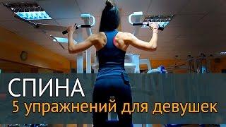 Упражнения для мышц спины для девушек(Спина - относится к одной из самых крупных мышечных группы нашего тела, и от грамотной проработки мышц спины..., 2016-02-11T08:21:12.000Z)
