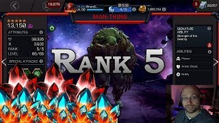 Struggling to get my Man-Thing Up | Marvel Contest of Champions