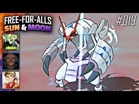 Pokémon Sun & Moon FFAs #019 Feat. aDrive, JayYTGamer & FeintAttacks!!