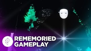 Rememoried Gameplay - A Trippy Puzzle/Exploration Game