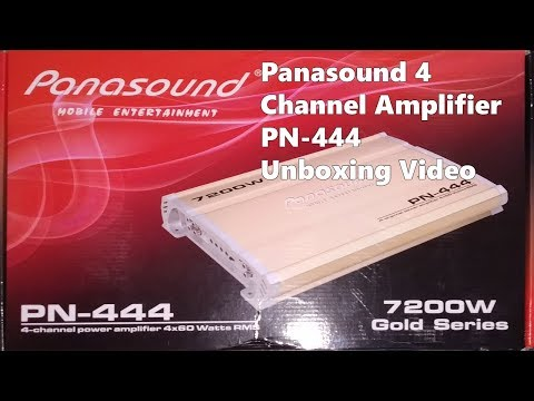 panasound-pn-444-4-channel-amplifier-unboxing-review-in-hindi