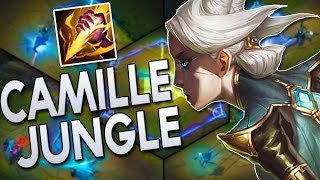 CAMILLE JUNGLE GAMEPLAY - Actually Pretty Good | League of Legends
