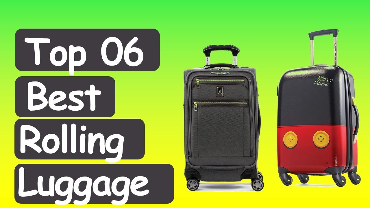 Best Carry On Luggage 2021 Best Rolling Carry On Luggage 2020  2021 || Top 6 Best Carry On