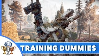 Horizon Zero Dawn 23 Grazer Training Dummies - All Locations in Nora Region
