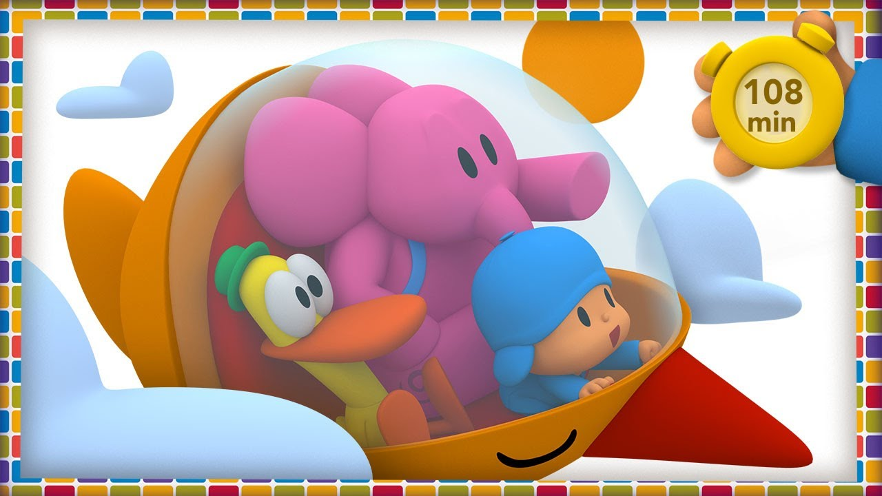 🚀 POCOYO AND NINA - Amazing Trips [108 minutes] | ANIMATED CARTOON for Children | FULL episodes