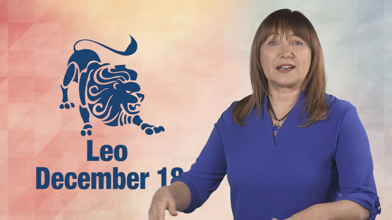 leo daily horoscope december 18