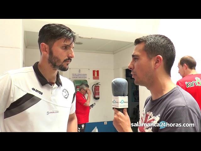 Declaraciones de Carlos Molina tras el partido de playoff contra el Socuéllamos