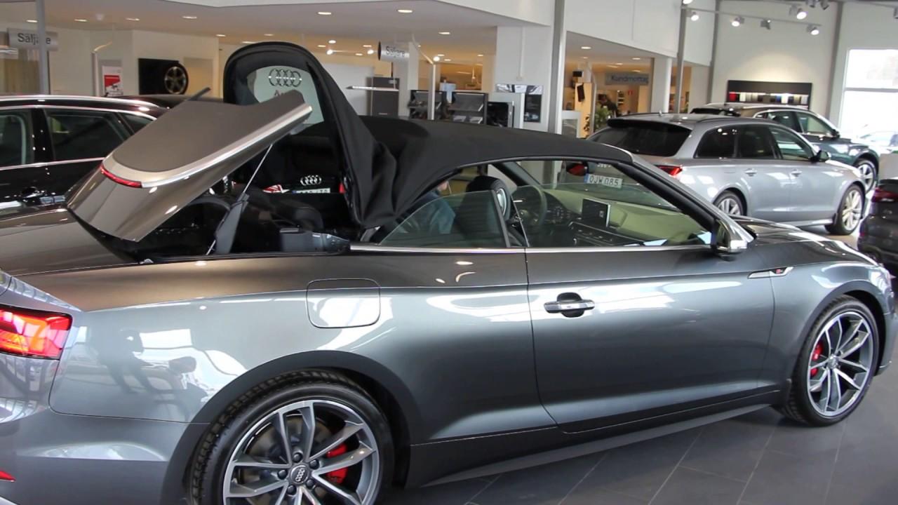Audi Rs5 2018 >> New 2018 Daytona gray Audi S5 cabriolet(start up, small ...