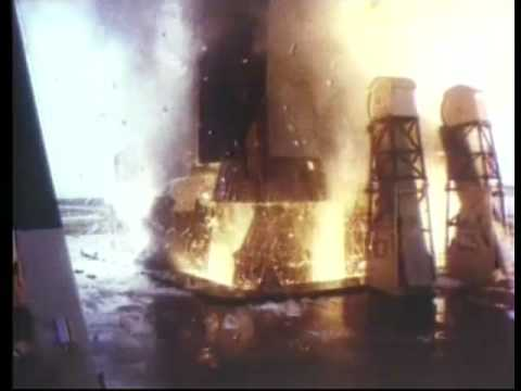 Liftoff for Apollo 11 - YouTube