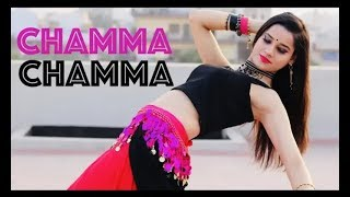 اجمل رقص هندي على اجمل اغنية هندية رائعة chamma chamma
