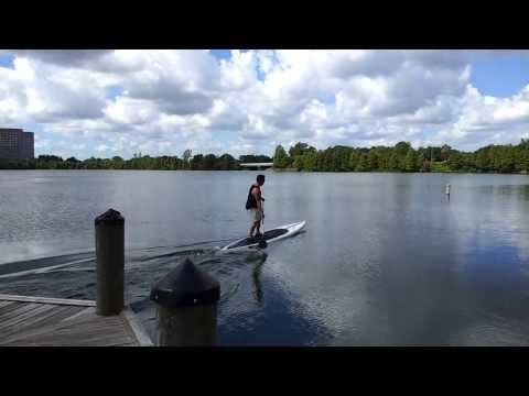 Paddleboard Dock Launch Lake Ivanhoe Orlando